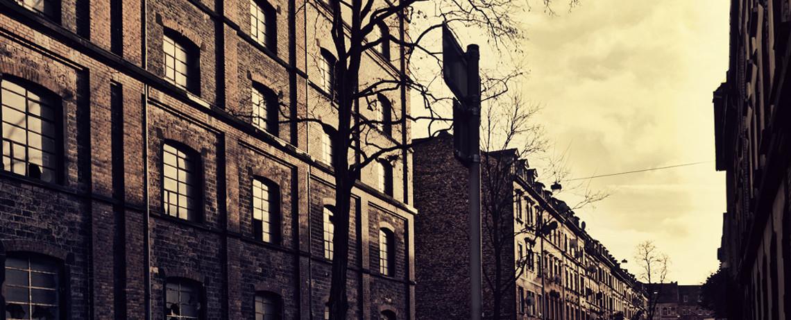 Mannheimer Altbauten im Jungbusch