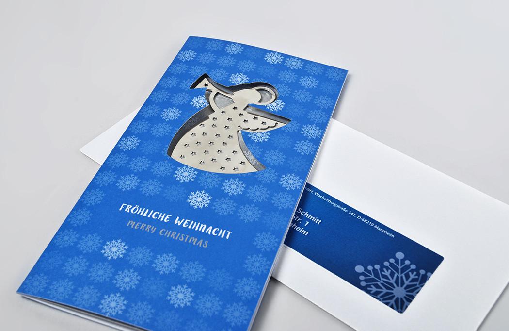 Weihnachtskarte für Pecon