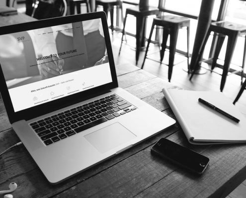 Umsetzung der Werbeagentur gestaltungswerk aus Mannheim - Neue Website der SVP Deutschland