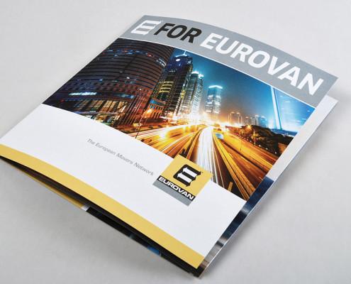 Titelseite der Eurovan Imagebroschüre