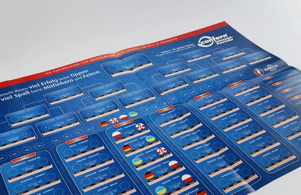 Fußball EM-Planer 2016