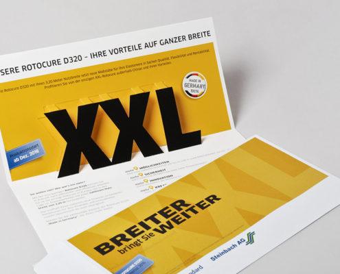 Mailing für Cooper Standard - mit XXL-Popup