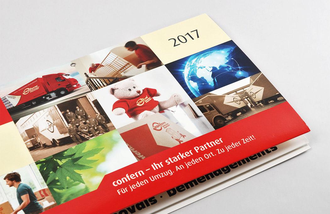 Kalender gestaltet von unserer Werbeagentur